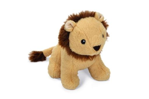 Korting Beeztees leeuw leo hondenspeelgoed bruin 18 cm