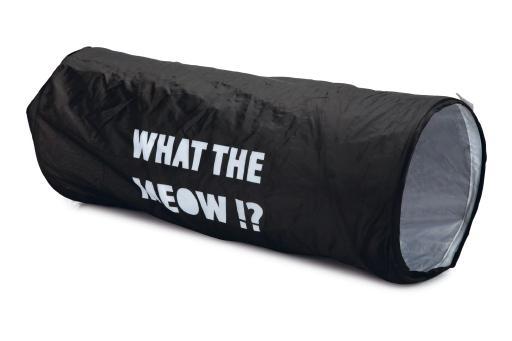 Beeztees orion kattentunnel zwart 64x25x25 cm