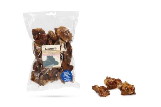 Beeztees varkensoorpitten hondensnack voordeel 560 gram