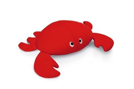 Beeztees crabsy hondenspeelgoed rood 30x23x9 cm