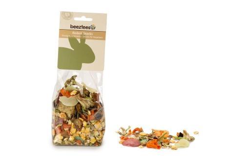 Beeztees groentemix - knaagdierensnack - 150 gram