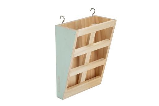 Beeztees houten hooiruif rima - knaagdier - hout - 20x15x8cm