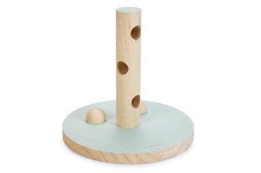 Beeztees speeltoren hayra - knaagdier - hout - mint - 30x30cm
