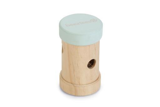Beeztees snackroller yumzi - knaagdier - hout - mint - 10,5x6cm