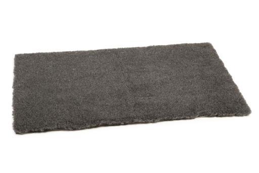 Beeztees eco vetbed rumax hondenmat bench antraciet 121x78cm