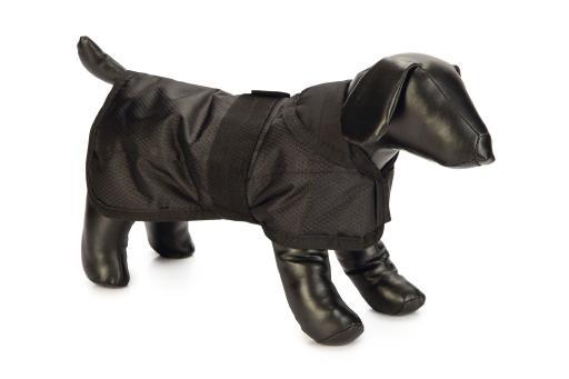 Beeztees polar - hondenjasje - zwart - nylon - 55 cm