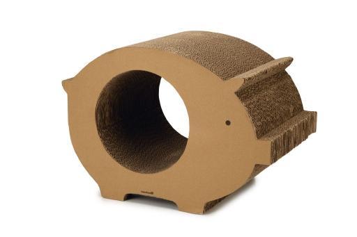 Beeztees piggy krabspeelgoed karton 50x30x35 cm