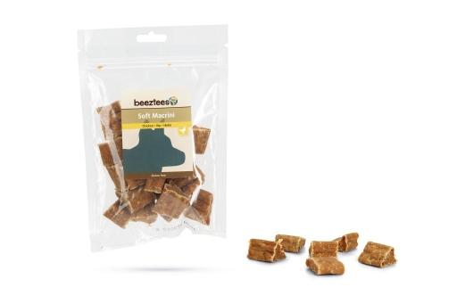 Beeztees soft macrini kip - hondensnack - 150 gram