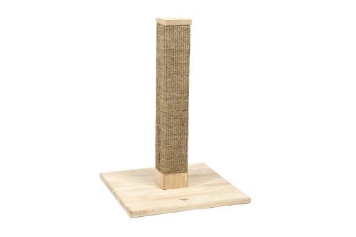 Designed by lotte viso - krabpaal - hout - 45x45x65 cm