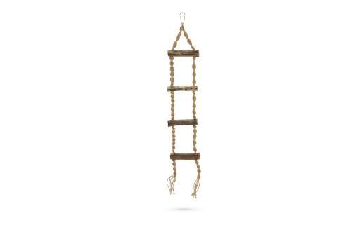 Beeztees hinto ladder - vogelspeelgoed - 60 cm