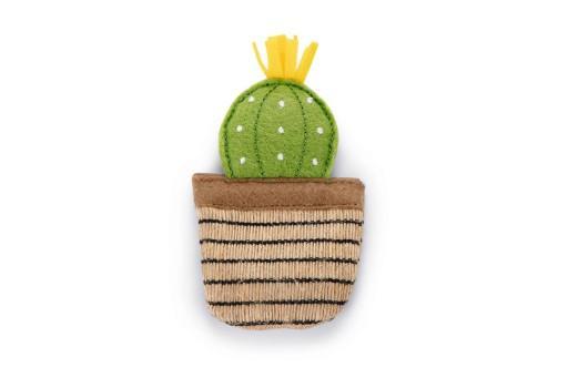 Beeztees catnip cactus oria kattenspeelgoed 12x6 cm