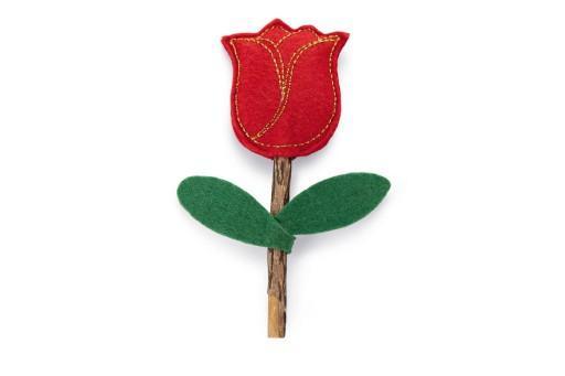 Beeztees catnip matatabi roos kattenspeelgoed 12x4 cm