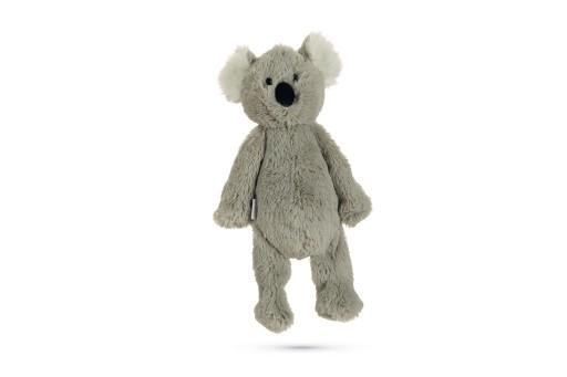 Beeztees koala ziva hondenspeelgoed pluche grijs 40x20x10,5 cm