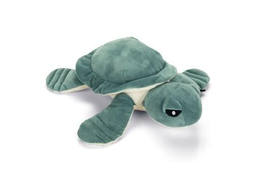 Beeztees schildpad daley hondenspeelgoed pluche groen 34x33x10 cm