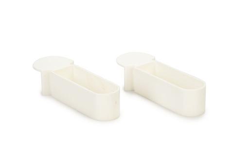 Korting Snoepbakje vogelbakje plastic wit 2x1,5 cm
