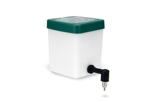 Konijnendrinkfles - incl. klapdeksel - plastic - 0,5l