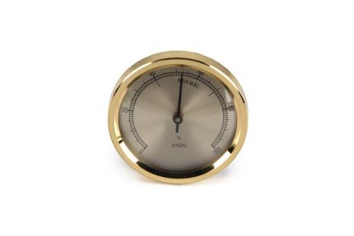 Hygrometer - vogel - bimetaal - 4,5 cm