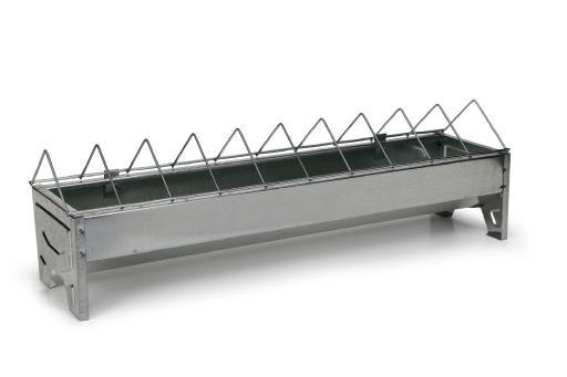 Voerbak - pluimvee - metaal - 50 cm