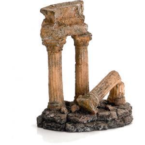 Romeinse zuil aquarium decoratie 15 cm