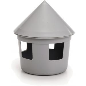 Duivendrinkbak 2 liter grijs