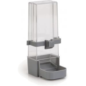 Afbeelding Voeder- en drinkfontein voor parkiet grijs