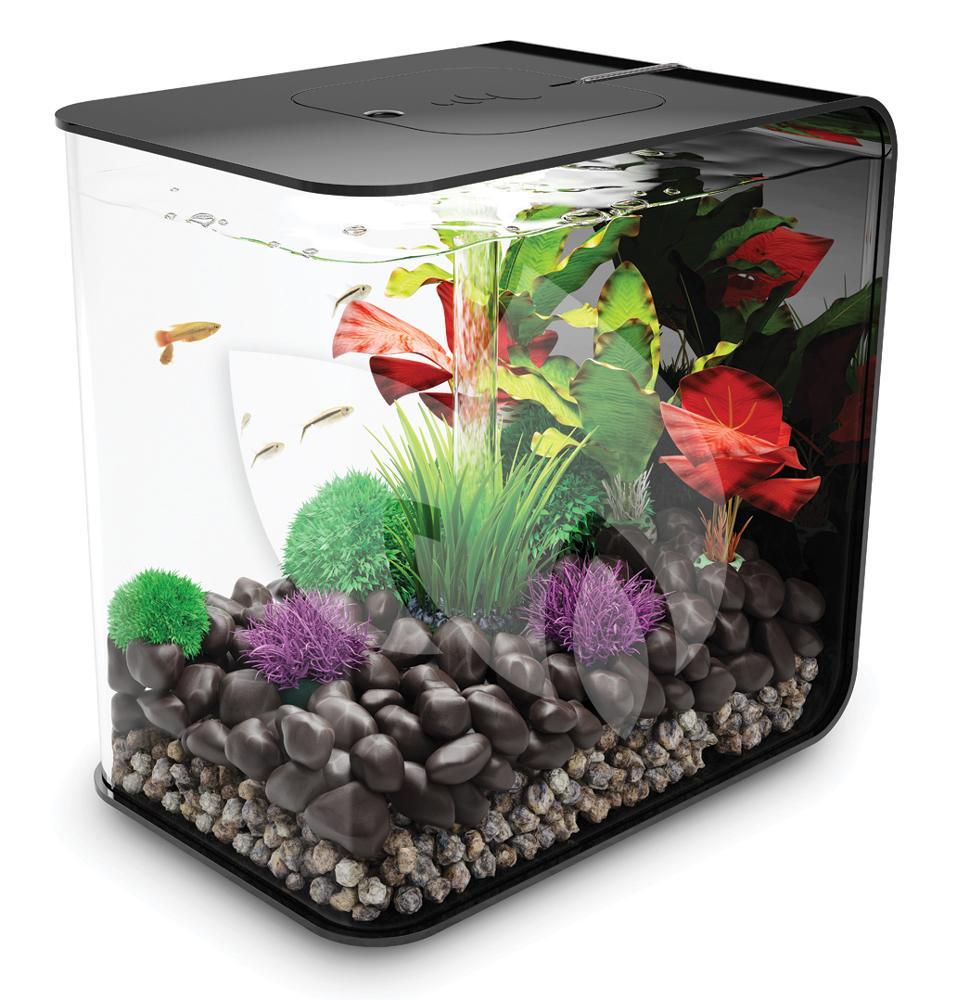 biorb flow aquarium 15 liter led zwart. Black Bedroom Furniture Sets. Home Design Ideas