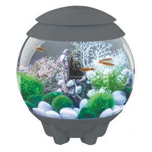 BiOrb Halo aquarium 30 liter LED maanlicht grijs