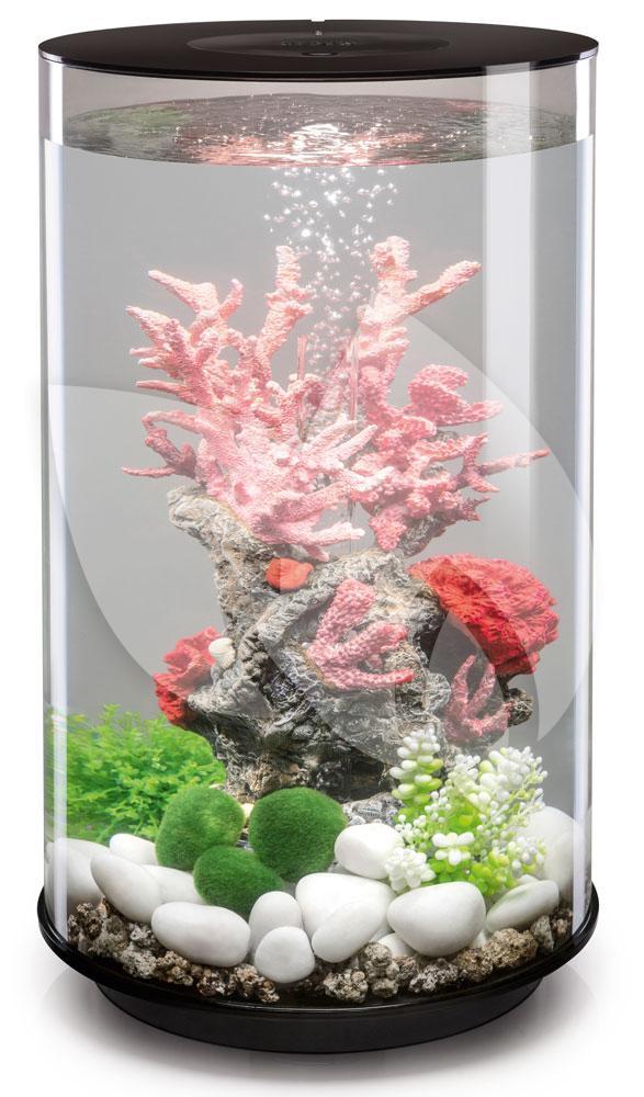 biorb tube aquarium 30 liter mcr zwart. Black Bedroom Furniture Sets. Home Design Ideas