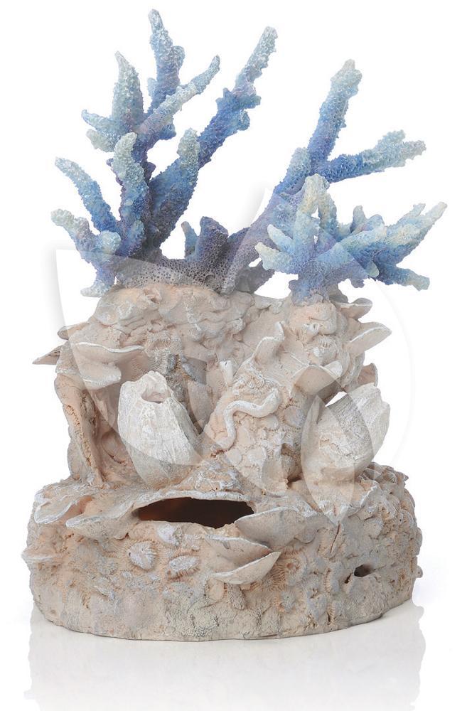 Biorb ornament koraalrif blauw aquarium decoratie for Decoratie aquarium