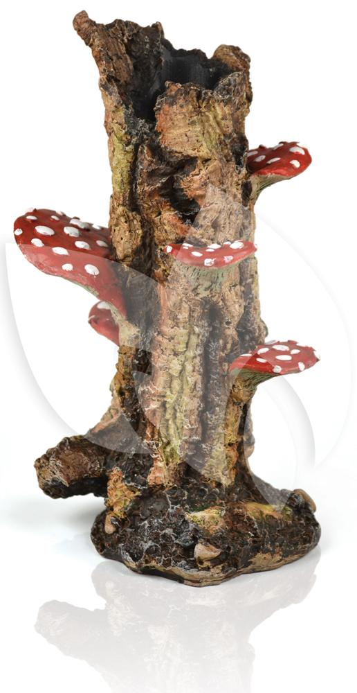 Biorb ornament paddenstoel boomstronk aquarium decoratie for Decoratie aquarium