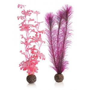 BiOrb zeewier set medium roze aquarium decoratie