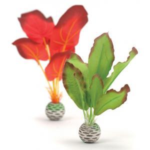 BiOrb zijden plantenset klein groen & rood aquarium decoratie