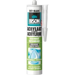 Bison acrylaatkit regenvast wit