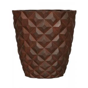 Capi Lux Heraldry roest 38x38x40cm bloempot