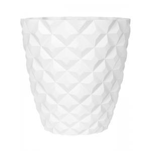 Capi Lux Heraldry wit 51x51x52cm bloempot