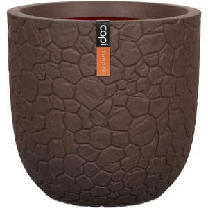 Capi Nature Clay pot 35x34cm bloempot bruin