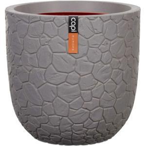 Capi Nature Clay pot 35x34cm bloempot grijs