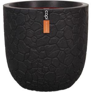 Capi Nature Clay pot 35x34cm bloempot zwart