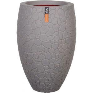 Capi Nature Clay vase luxe 45x72cm bloempot grijs