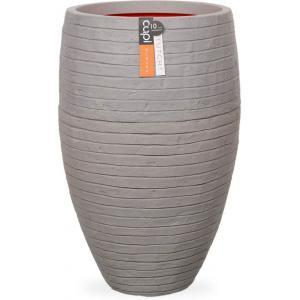 Capi Nature Row NL vase luxe 39x60cm bloempot grijs