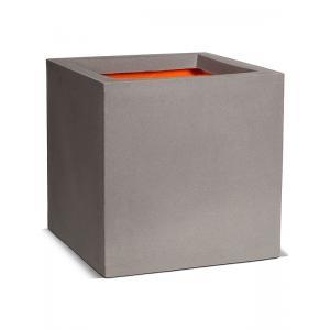 Pot vierkant II 30x30x30 grijs Capi Tutch
