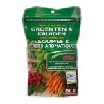 Organische meststof voor groenten en kruiden