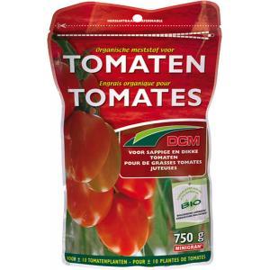 Organische meststof voor tomaten