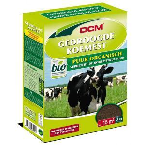 DCM gedroogde koemestkorrels 3 kg