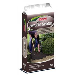 Korting DCM zwarte grond 25 liter