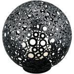 Ferroterra zwart vloerlamp