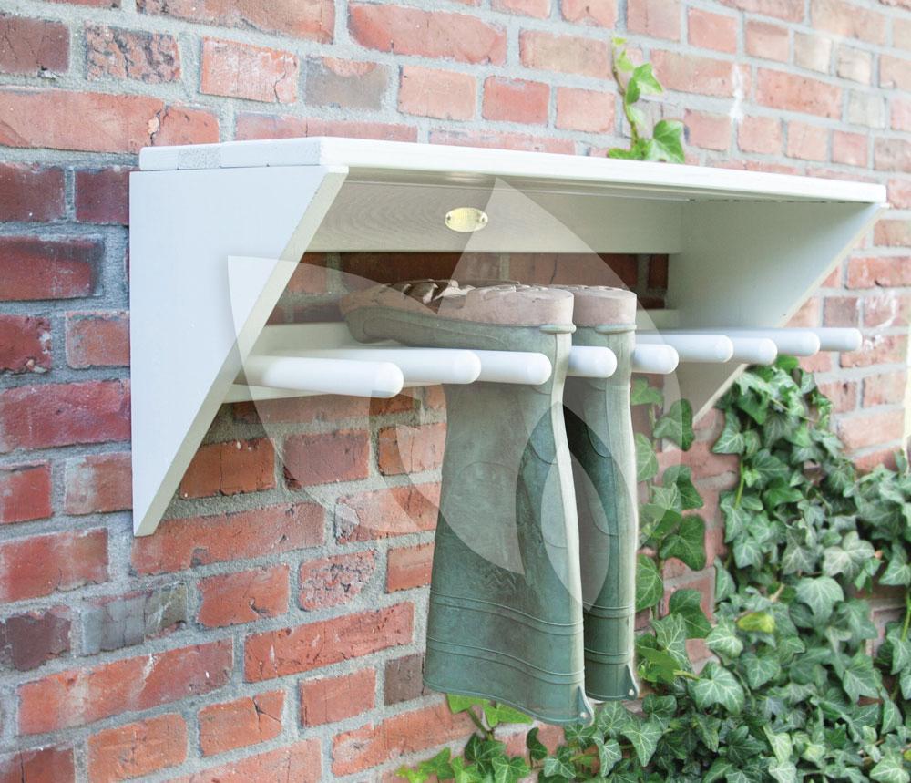 Welp Esschert Design Laarzenrek wit | Tuinexpress.nl VP-72