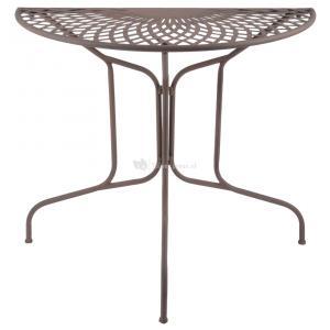 Ronde Metalen Tuintafel.Esschert Design Tuintafel Halfrond Metaal Old Rectory
