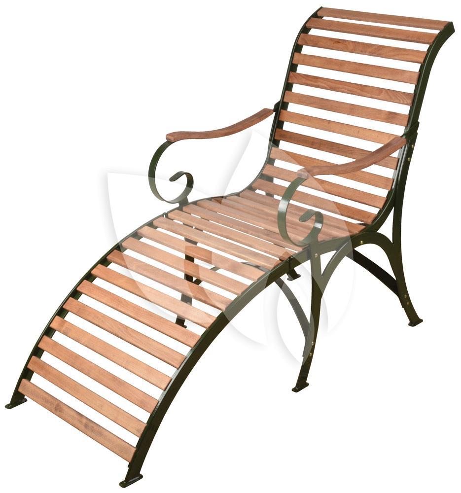 Esschert design ligstoel hout opklapbaar sofia groen for Design liegestuhl