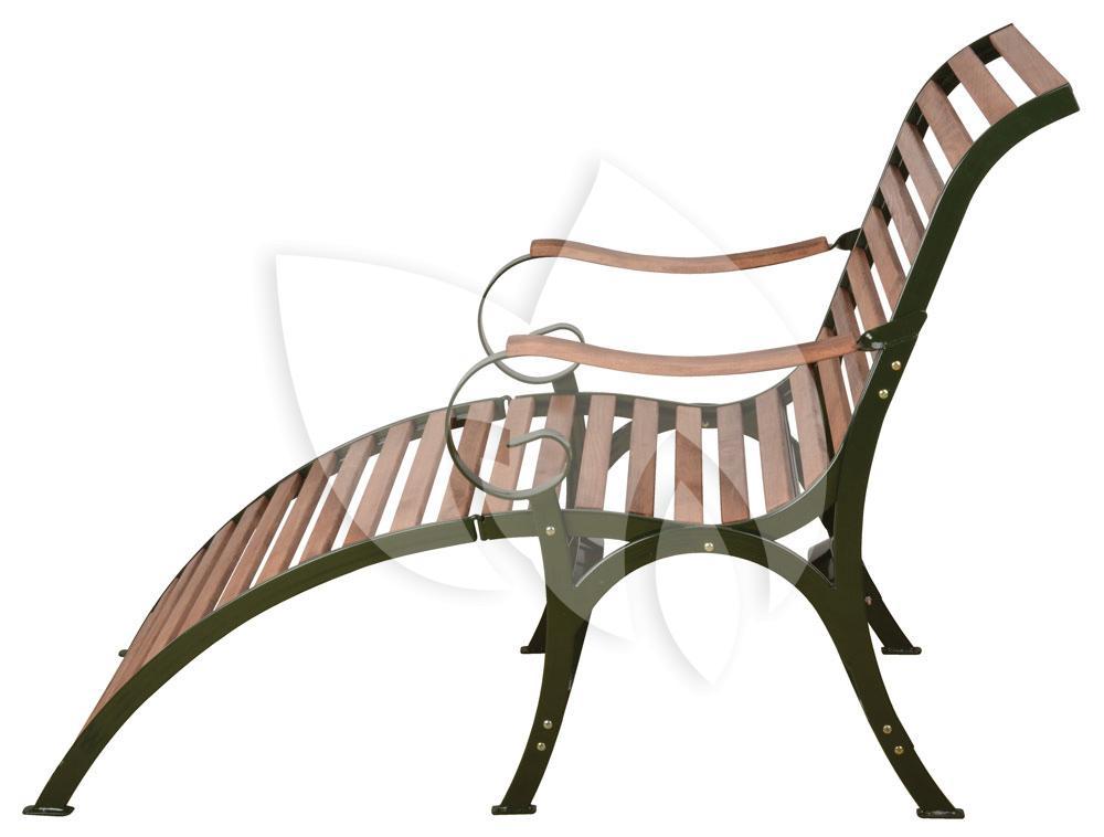 Zeer Esschert Design Ligstoel hout opklapbaar Sofia groen | Tuinexpress.nl SX74